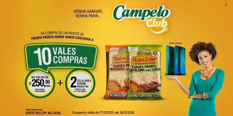 CAMPELO CLUB NOBRE SABOR!