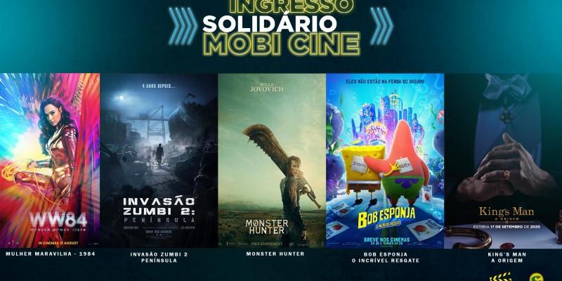 Lojas Campelo vendem ingressos solidários do Mobi Cine