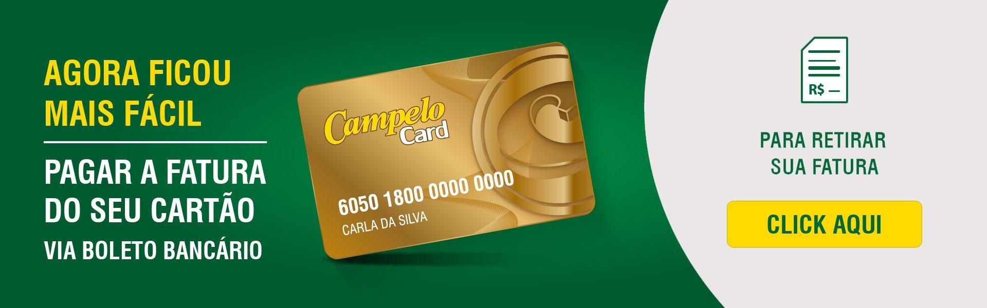 Fatura Campelo Card!